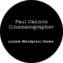 Paul Cannon Cinematographer